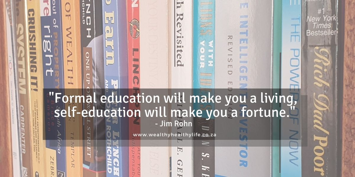 Financial Literacy Books that Guided me to Financial Freedom
