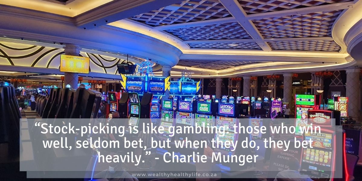Stock Picking is a Gamble Even for the Best